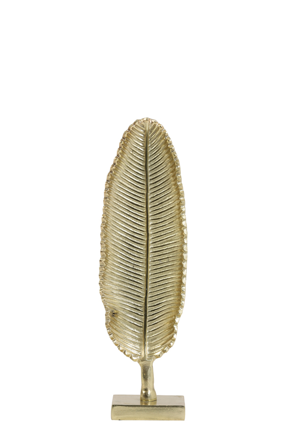 Ornament Leaf Goud 41 cm