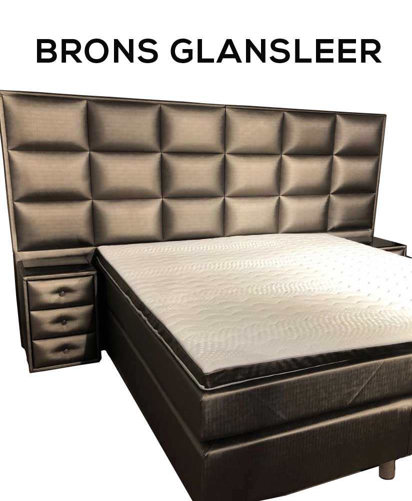 Boxspringset Cologne Bronze